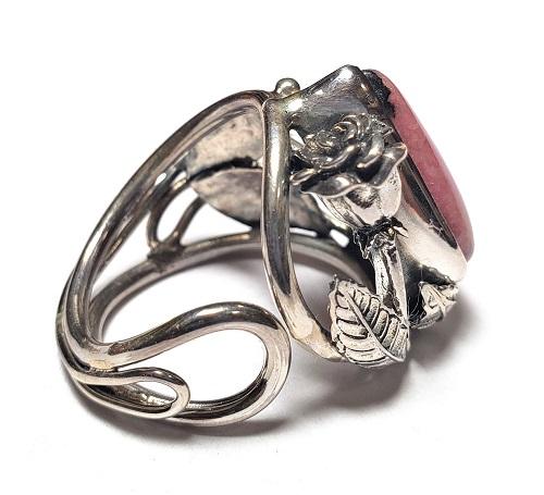 Rhodonite Ring #7