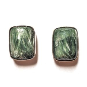Seraphinite Post Earrings 11