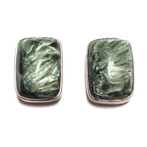Seraphinite Post Earrings 12