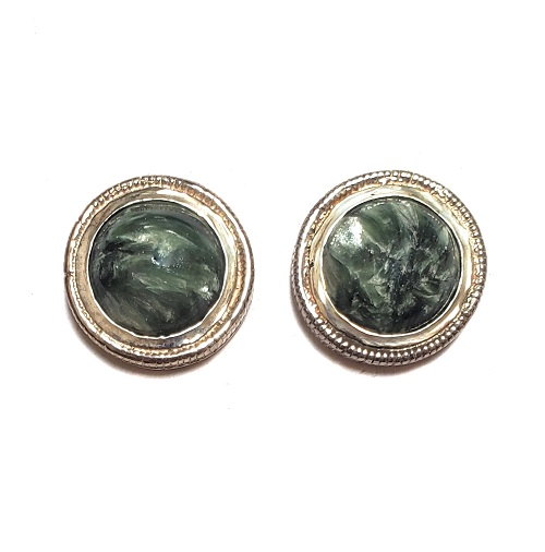 Seraphinite Post Earrings 4