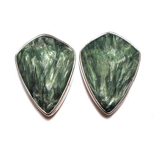 Seraphinite Post Earrings 6