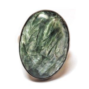 Seraphinite Ring #1