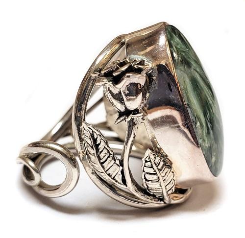 Seraphinite Ring #2