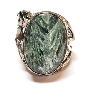 Seraphinite Ring #3