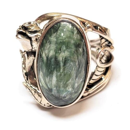 Seraphinite Ring #4