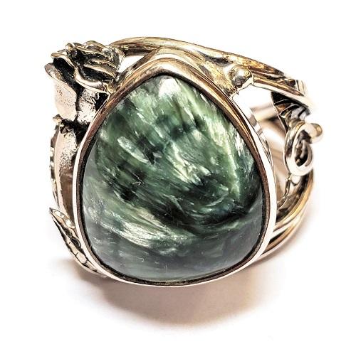 Seraphinite Ring #5