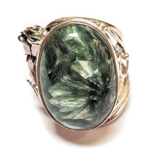 Seraphinite Ring #6