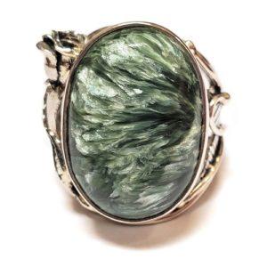 Seraphinite Ring #7