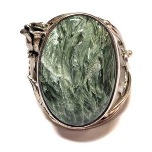 Seraphinite Ring #8