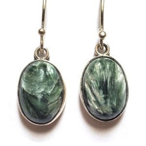 Seraphinite Wire Earrings 17