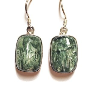 Seraphinite Wire Earrings 5