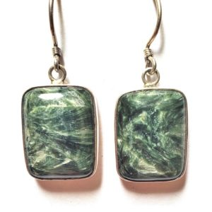 Seraphinite Wire Earrings 6