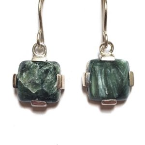 Seraphinite Wire Earrings 8