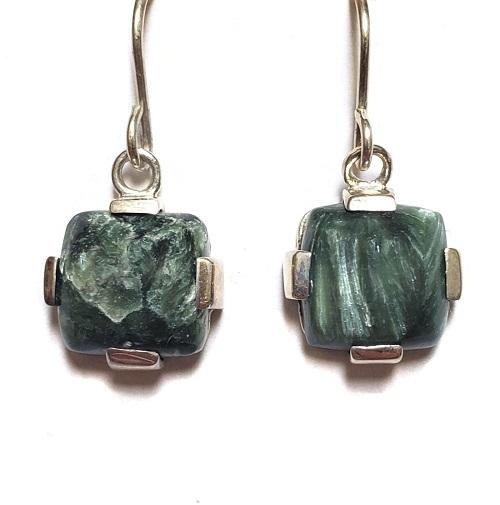 Seraphinite Wire Earrings 8