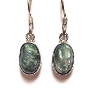Seraphinite Wire Earrings 9