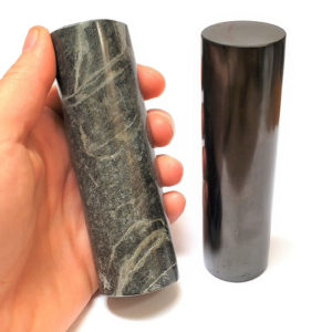 Shungite Harmonizing Cylinder Set