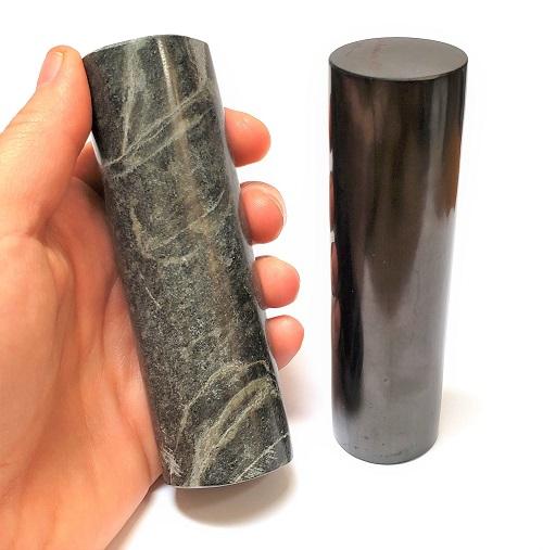 Shungite Harmonizing Cylinder Set