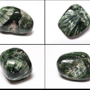 Seraphinite AA Grade tumbled stones