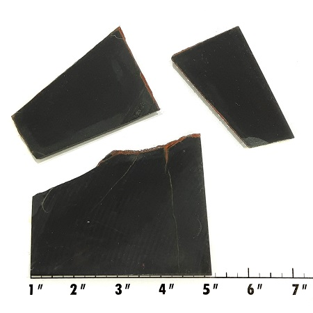 Slab1934 - Black Nephrite Jade SLabs