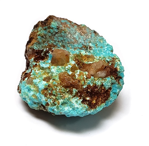 Cumpas Natural Turquoise Rough #15