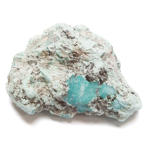 Stabilized Campitos Turquoise large-sized Rough #4