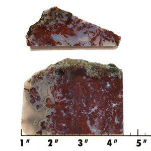 Slab743 - Red Lightning Agate Slabs