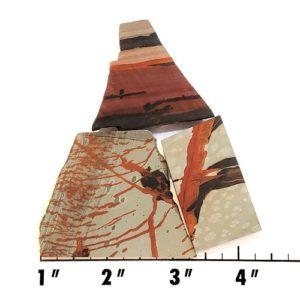 Slab1096 - Indian Paint Rock Slabs