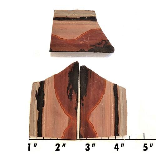 Slab1104 - Indian Paint Rock Slabs
