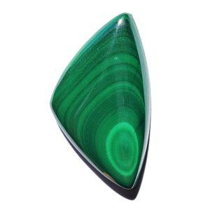 Cab1708 - Malachite cabochon