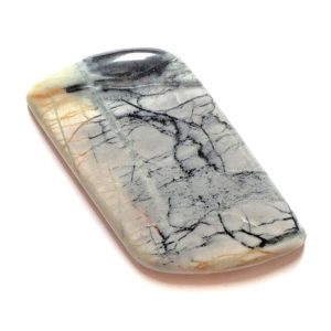 Cab1656 - Picasso Marble Cabochon