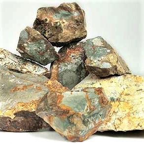 Rocky Butte Jasper Rough from eastern Oregon/western Idaho - $7.00/lb