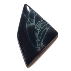 Spiderweb Obsidian Cabochons from Mexico
