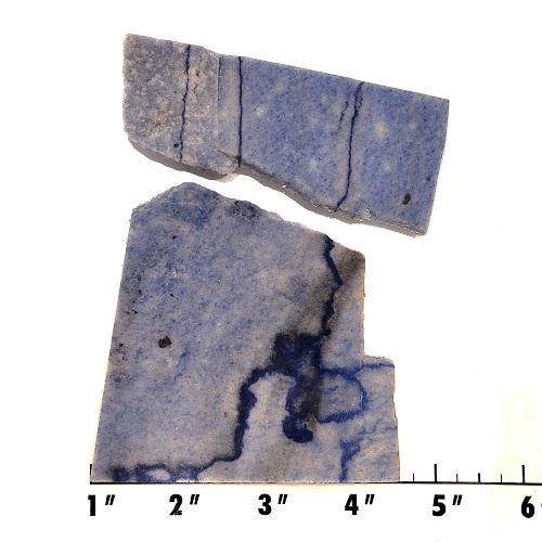 Slab1498 - Blue Quartz Slab