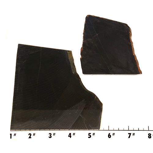 Slab1944 - Black Nephrite Jade Slabs