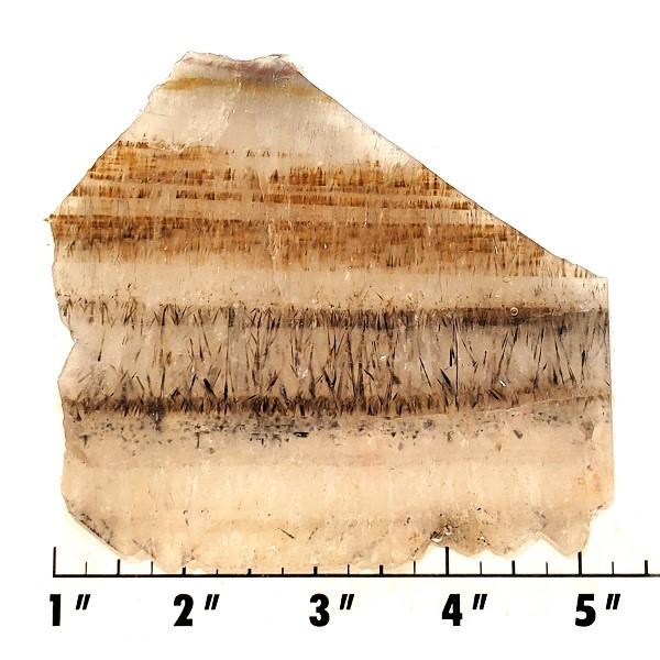 Slab648 - Cacoxenite in Quartz Slab