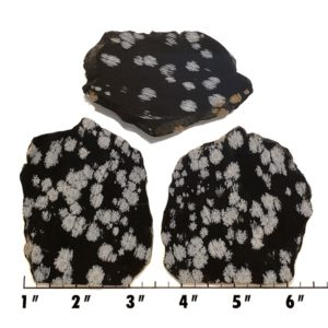 Slab1239 - Snowflake Obsidian Slabs
