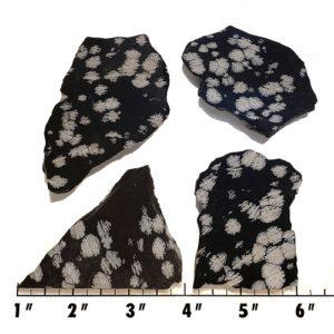 Slab1246 - Snowflake Obsidian Slabs