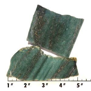 Slab894 - Green Quartz Slab