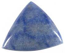 Blue Quartz Cabochon