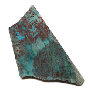 Chrysocolla in Quartz Rough #1