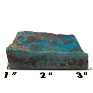 Chrysocolla in Quartz Rough #3