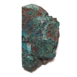 Chrysocolla in Quartz Rough #4