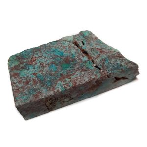 Chrysocolla in Quartz Rough #8