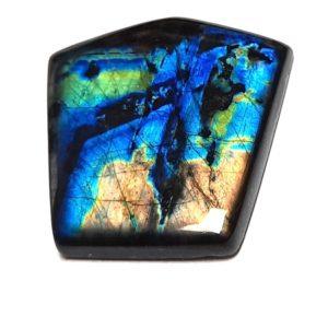 Spectrolite (Labradorite) Feldspar Cabochons from Finland