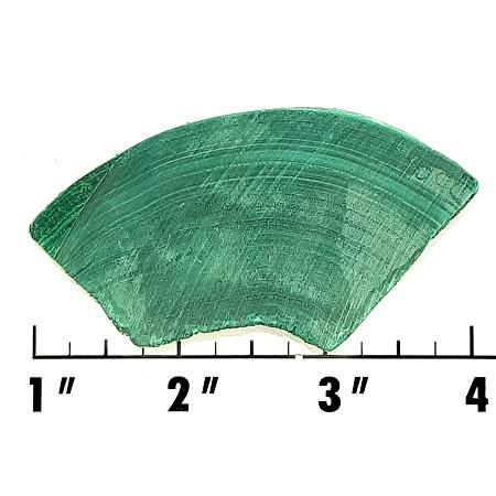 Slab107 - Malachite slab
