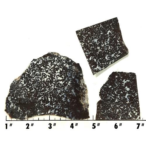 Slab1152 - Medicine Bow Plume Agate slabs