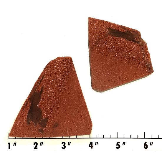 Slab1187 - Red Goldstone Slabs