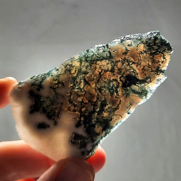 Slab142 - Green Moss Agate slabs