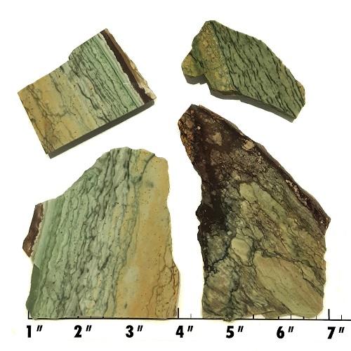 Slab1581 - Green Mountain Jasper Slabs