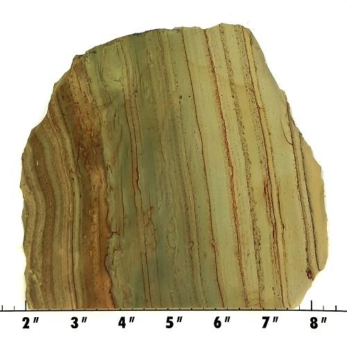Slab1700 - Green Mountain Jasper Slab